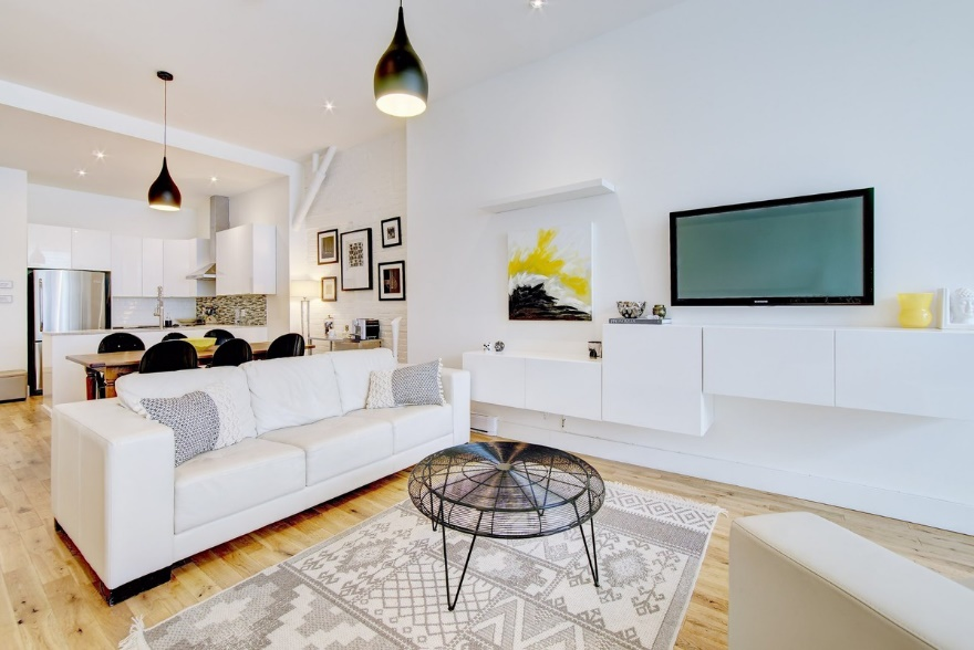 living room remodeling upgrades & wall units